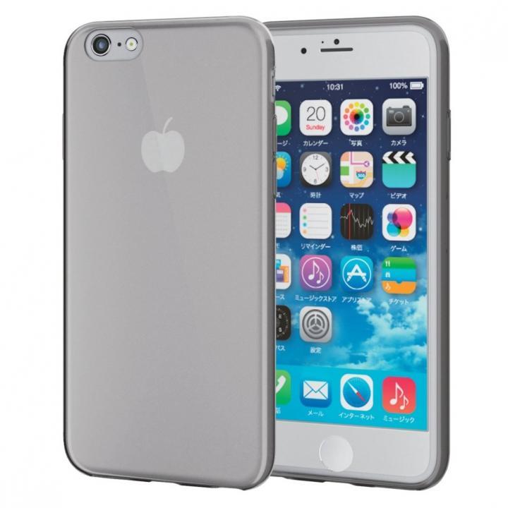 【iPhone6sケース】薄型クリアソフトケース クリアブラック iPhone 6s_0