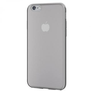 【iPhone6sケース】薄型クリアソフトケース クリアブラック iPhone 6s_1
