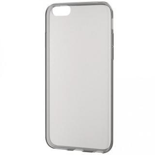 【iPhone6sケース】薄型クリアソフトケース クリアブラック iPhone 6s_3