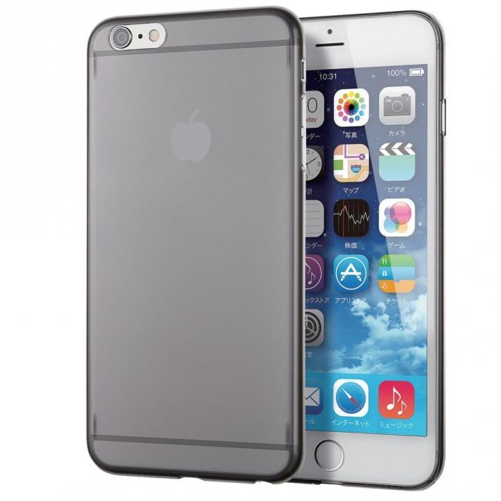 【iPhone6s Plusケース】ウルトラスリムハードケース ブラック iPhone 6s Plus_0
