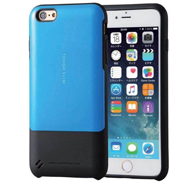 【iPhone6s Plusケース】TOUGH SLIM  耐衝撃ケース ブルー iPhone 6s Plus_0