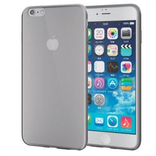 薄型ソフトケース クリアブラック iPhone 6s Plus