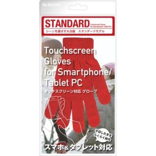 スマートフォン手袋/スタンダード/レッド