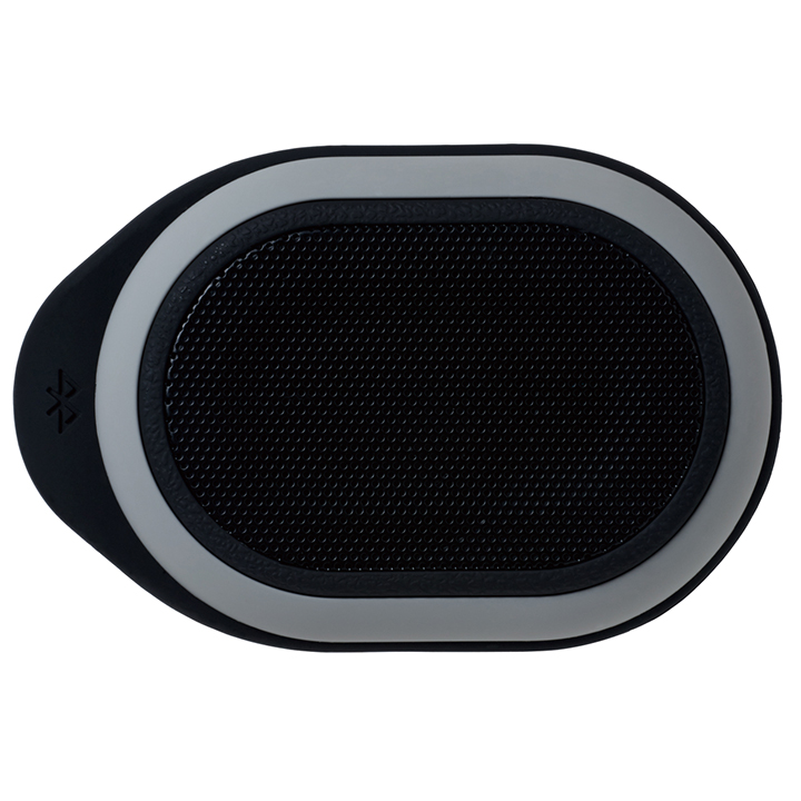Bluetooth対応 防水ポータブルスピーカー ブラック
