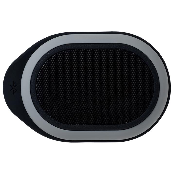 Bluetooth対応 防水ポータブルスピーカー ブラック_0