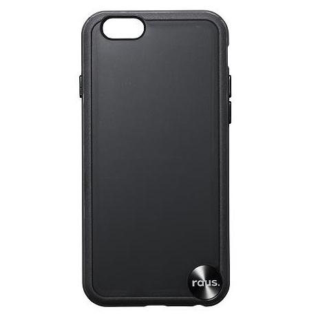 【iPhone6ケース】ハードケース+ソフトバンパー ラウズ ブラック iPhone 6ケース_0