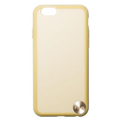 【iPhone6ケース】ハードケース+ソフトバンパー ラウズ ゴールド iPhone 6ケース_0