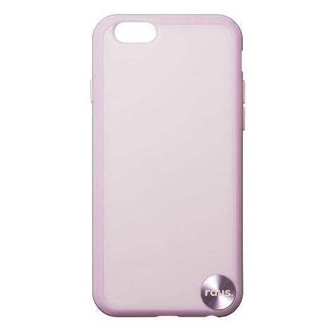 【iPhone6ケース】ハードケース+ソフトバンパー ラウズ ピンク iPhone 6ケース_0