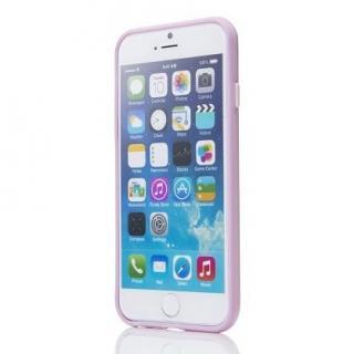 【iPhone6ケース】ハードケース+ソフトバンパー ラウズ ピンク iPhone 6ケース_1