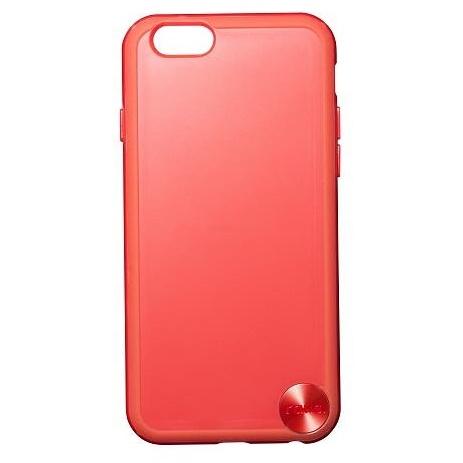 【iPhone6ケース】ハードケース+ソフトバンパー ラウズ レッド iPhone 6ケース_0