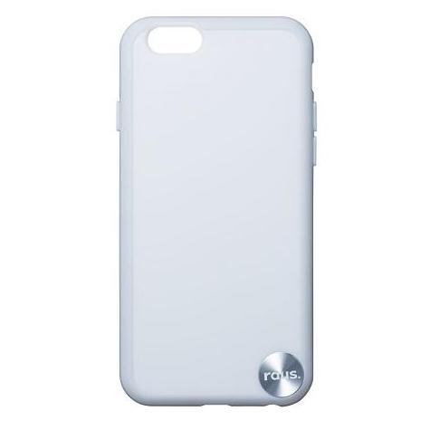 【iPhone6ケース】ハードケース+ソフトバンパー ラウズ ホワイト iPhone 6ケース_0