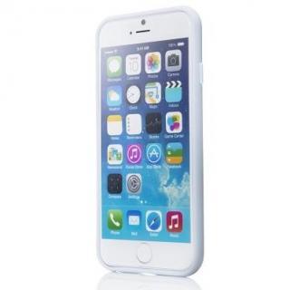 【iPhone6ケース】ハードケース+ソフトバンパー ラウズ ホワイト iPhone 6ケース_1