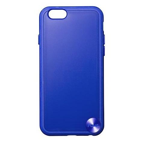 【iPhone6ケース】ハードケース+ソフトバンパー ラウズ ブルー iPhone 6ケース_0