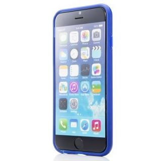 【iPhone6ケース】ハードケース+ソフトバンパー ラウズ ブルー iPhone 6ケース_1
