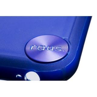 【iPhone6ケース】ハードケース+ソフトバンパー ラウズ ブルー iPhone 6ケース_2