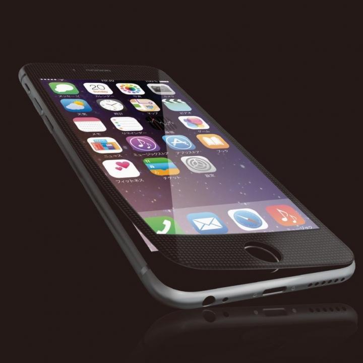 iPhone6s フィルム [0.40mm]液晶保護強化ガラス ブラックフレーム iPhone 6s_0