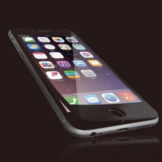 [0.40mm]液晶保護強化ガラス ブラックフレーム iPhone 6s