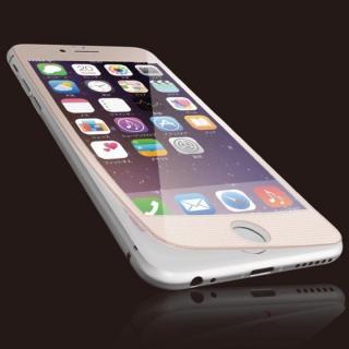 iPhone6s フィルム [0.40mm]液晶保護強化ガラス ピンクフレーム iPhone 6s
