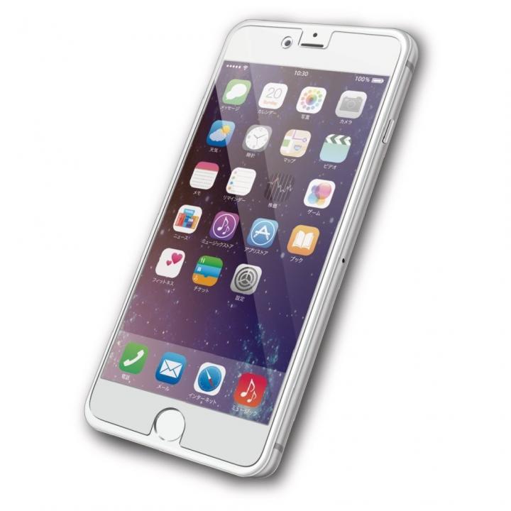 液晶保護フィルム ぱちぴた 防指紋 光沢 iPhone 6s Plus