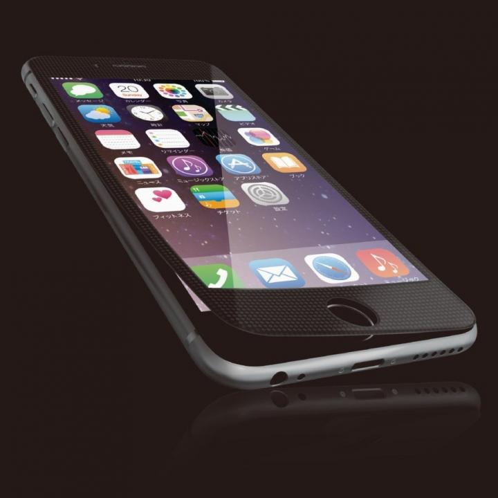 iPhone6s Plus フィルム [0.40mm]液晶保護強化ガラス ブラックフレーム iPhone 6s Plus_0