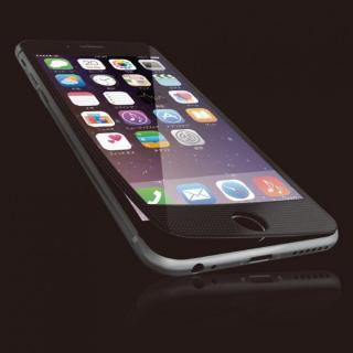 [0.40mm]液晶保護強化ガラス ブラックフレーム iPhone 6s Plus