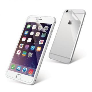 液晶保護フィルム 光沢 背面フィルム付き iPhone 6s Plus