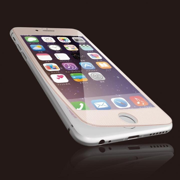 iPhone6s Plus フィルム [0.40mm]液晶保護強化ガラス ピンクフレーム iPhone 6s Plus_0