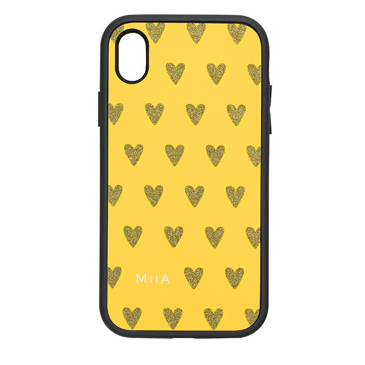iPhone XR ケース iDress IJOY ケース MIIA ハートマスタード iPhone XR_0