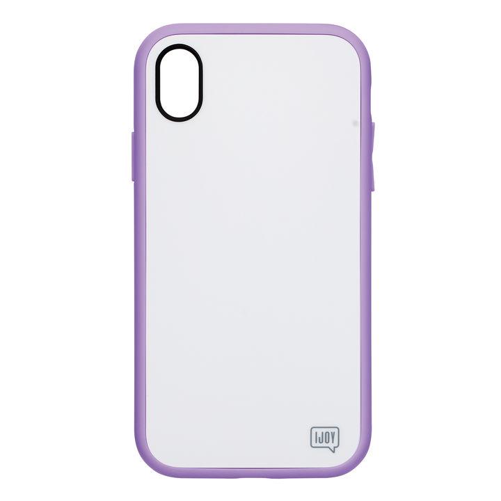 iPhone XR ケース iDress NEWT IJOY ケース パステルパープル iPhone XR_0