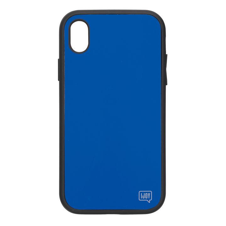 【iPhone XRケース】iDress NEWT IJOY ケース ブルー iPhone XR_0