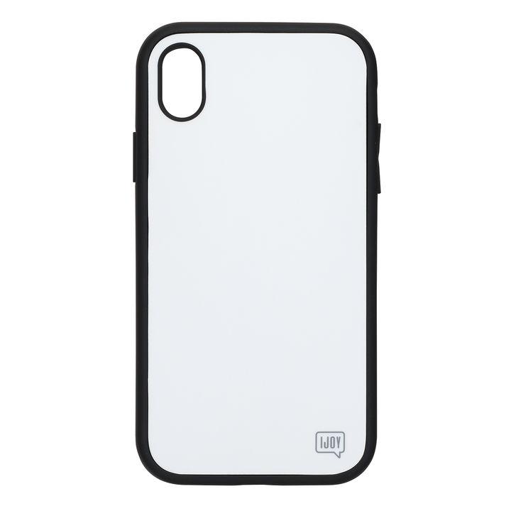 iPhone XR ケース iDress NEWT IJOY ケース ホワイト iPhone XR_0
