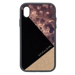 【iPhone XRケース】iDress IJOY ケース SPIRALGIRL レオパード iPhone XR