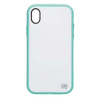iDress NEWT IJOY ケース パステルミント iPhone XS Max