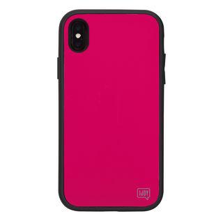 【iPhone XSケース】iDress NEWT IJOY ケース フューシャ―ピンク iPhone XS【9月中旬】
