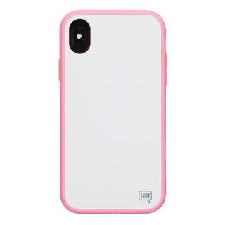 【iPhone XSケース】iDress NEWT IJOY ケース パステルピンク iPhone XS【9月中旬】