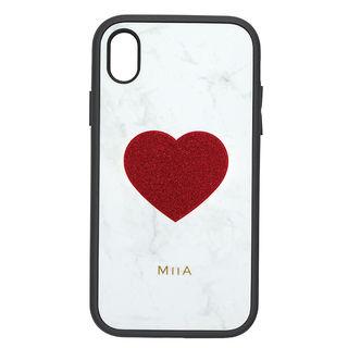 【iPhone XRケース】iDress IJOY ケース MIIA ハートレッド iPhone XR【9月下旬】