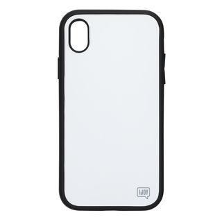 iPhone XR ケース iDress NEWT IJOY ケース ホワイト iPhone XR