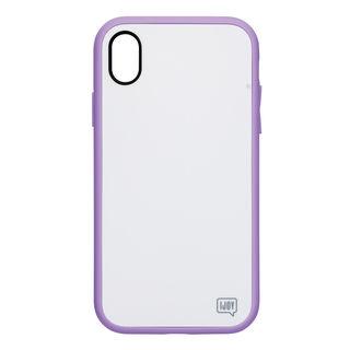 【iPhone XRケース】iDress NEWT IJOY ケース パステルパープル iPhone XR【9月中旬】