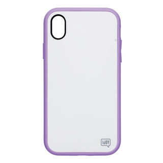 【iPhone XRケース】iDress NEWT IJOY ケース パステルパープル iPhone XR