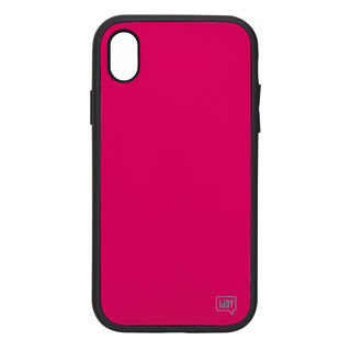 iDress NEWT IJOY ケース フューシャ―ピンク iPhone XS Max