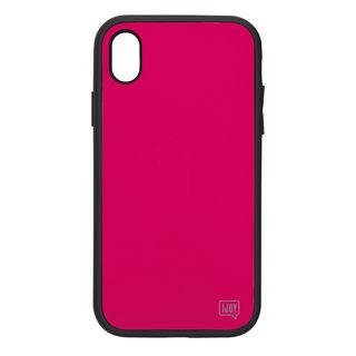【iPhone XS Maxケース】iDress NEWT IJOY ケース フューシャ―ピンク iPhone XS Max【9月中旬】