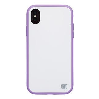 【iPhone XSケース】iDress NEWT IJOY ケース パステルパープル iPhone XS【9月中旬】