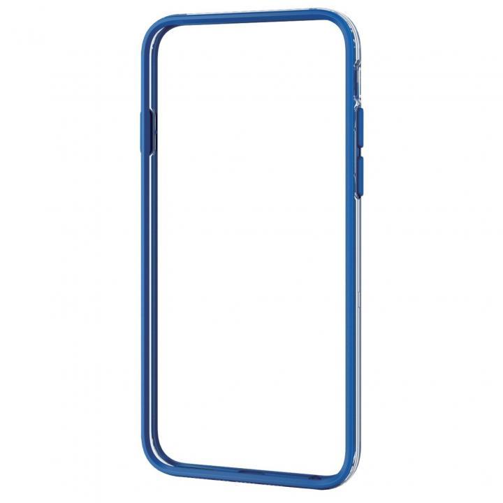 ハイブリッドバンパー ブルー iPhone 6バンパー