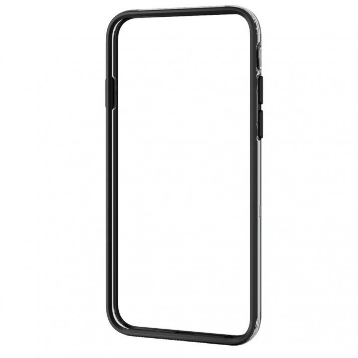 iPhone6 ケース エレコム製 ハイブリッドバンパー ブラック iPhone 6バンパー_0