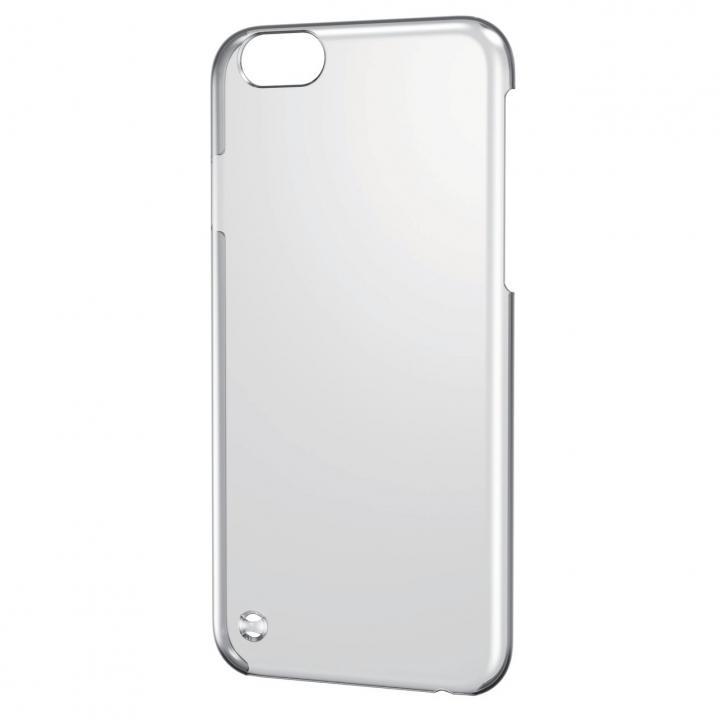 ストラップホール付き シェルカバー クリア iPhone 6ケース