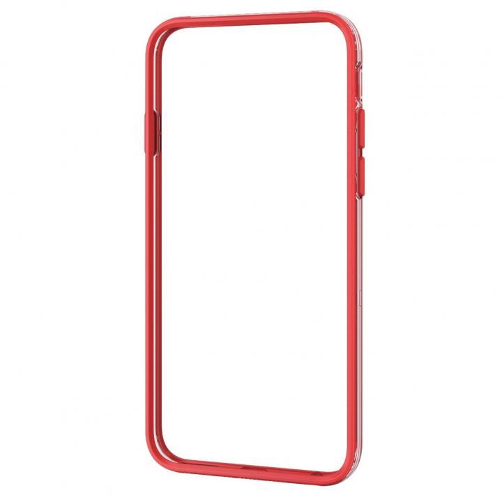 ハイブリッドバンパー レッド iPhone 6バンパー