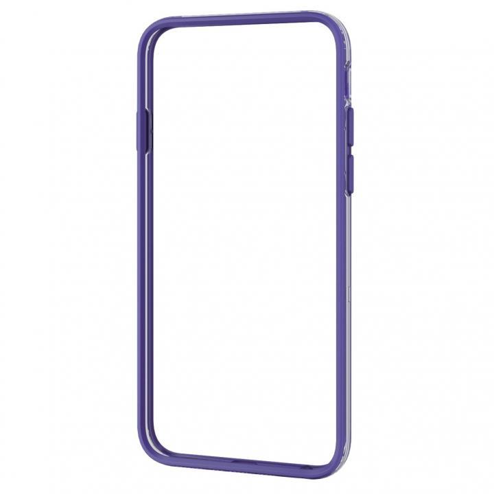 【iPhone6ケース】ハイブリッドバンパー パープル iPhone 6バンパー_0