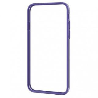 ハイブリッドバンパー パープル iPhone 6バンパー