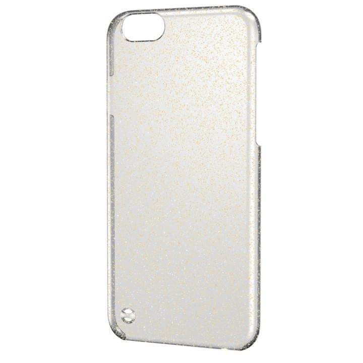 シェルカバー クリア(ラメ色はゴールド) iPhone 6ケース