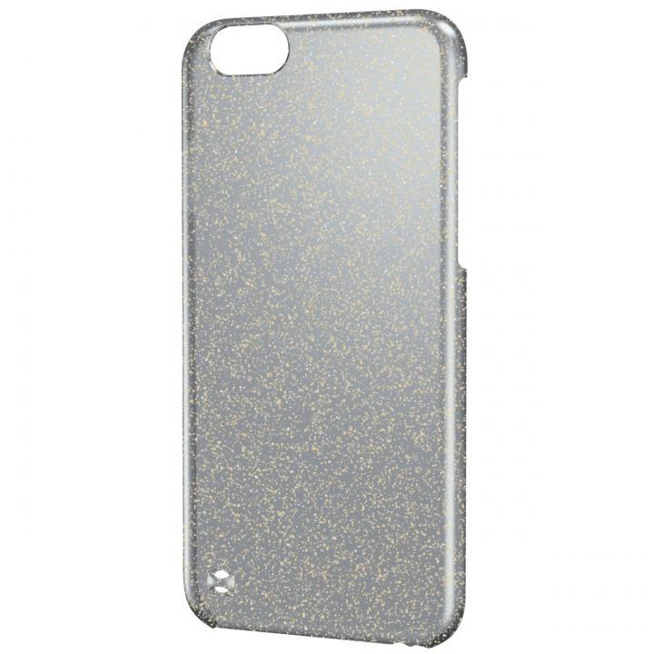 iPhone6 ケース シェルカバー クリアブラック(ラメ色はゴールド) iPhone 6ケース_0